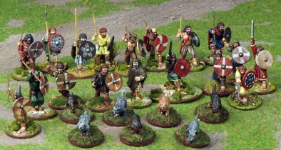 Irish 4pt Warband