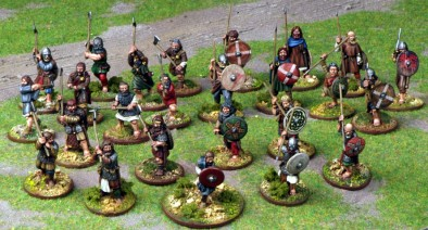 Norse Gael 4pt Warband