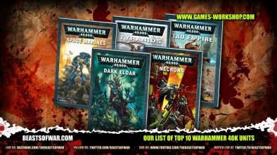 Our List of Top 10 Warhammer 40K Units
