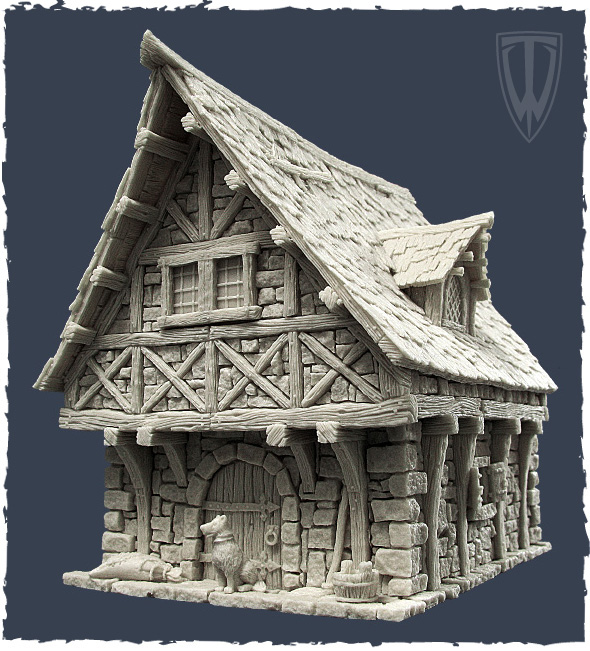 Setting Up The Town Houses With Tabletop World