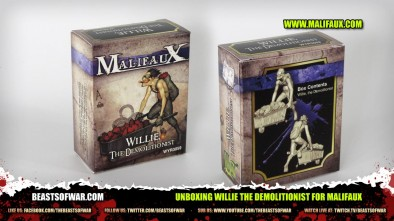 Unboxing Willie the Demolitionist for Malifaux