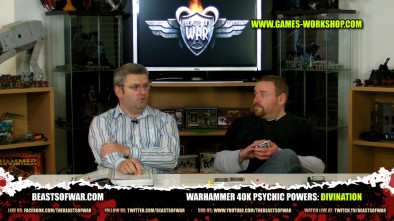 Warhammer 40K Psychic Powers: Divination