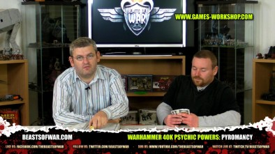 Warhammer 40K Psychic Powers: Pyromancy