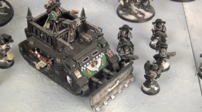 Worthy Painting Dark Angels Fortress of Petulance