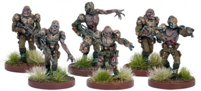 Zombie Marines Close Up