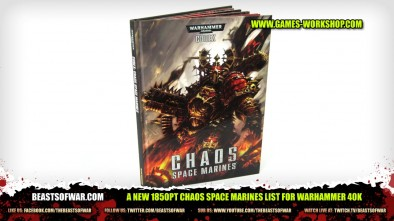 A New 1850pt Chaos Space Marines List for Warhammer 40K