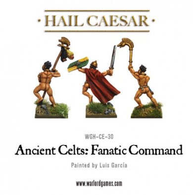 Ancient Celts - Fanatic Command (Rear)