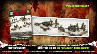 Battlefield in a Box: Log Emplacment - Dug In Markers