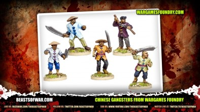 Chinese Gangsters From Wargames Foundry