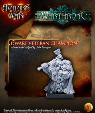 Dwarf Veteran Champion