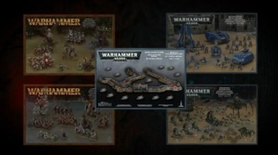 Games Workshop - Megaforce and Terrain Boxes
