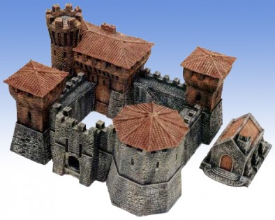 Manorhouse Workshop - 15mm Castle and Chapel