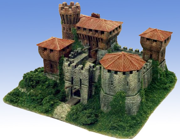 Manorhouse build a mini medieval castle beasts of war for Build a castle house