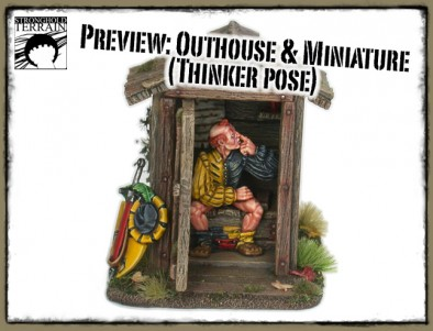 Outhouse with Miniature