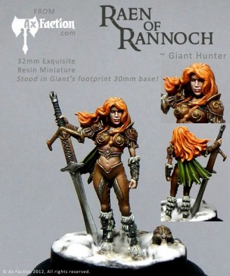 Painted Raen of Rannoch