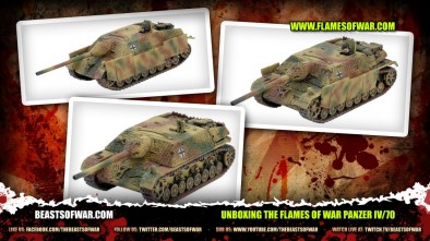 Unboxing the Flames of War Panzer IV/70