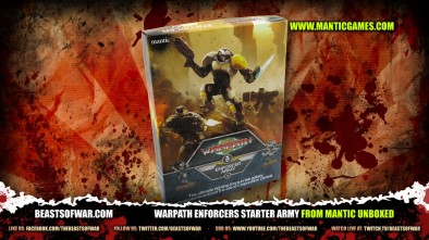 Warpath Enforcers Starter Army from Mantic Unboxed