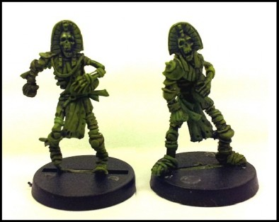 Willy Miniatures - Mummy Players