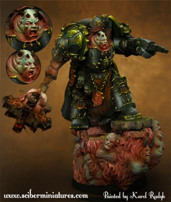 28mm Chaos Lord #1