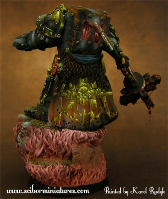 28mm Chaos Lord #2