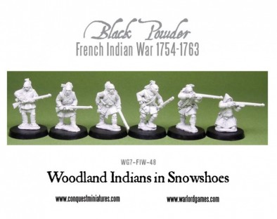Black Powder - Woodland Indians in Snow Shoes