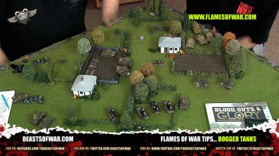 Flames of War Tips... Bogged Tanks
