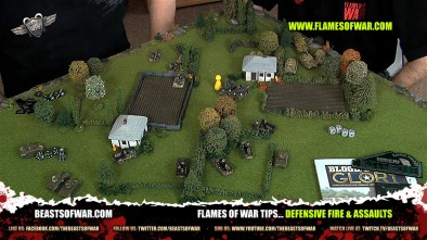 Flames of War Tips... Defensive Fire & Assaults