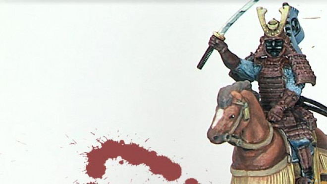 Painting Samurai Cavalry from Wargames Factory… Part 1