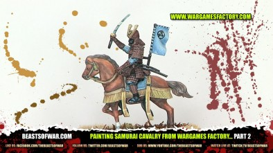 Painting Samurai Cavalry from Wargames Factory... Part 2