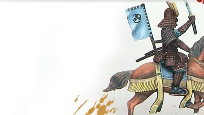 Painting Samurai Cavalry from Wargames Factory… Part 4