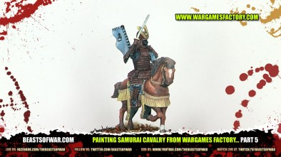 Painting Samurai Cavalry from Wargames Factory... Part 5