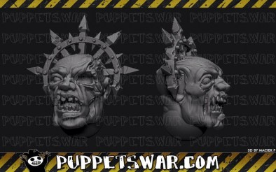 Puppets War - Twisted Chaos Head