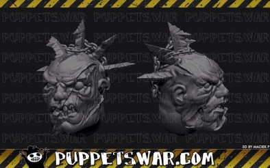 Puppets War - Twisted Heads
