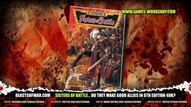 Sisters of Battle... do they make good allies in 6th Edition 40K?