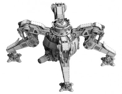 Spartan Games - Covenant of Antarctica Xenophon Class Small Walker