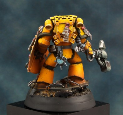 Tru-Scale Imperial Fist Space Marine #2