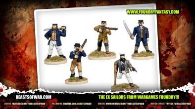 A Bar Fight on the Docks? Must be the Ex Sailors From Wargames Foundry!!!