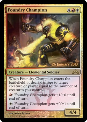 Alternate Foundry Champion