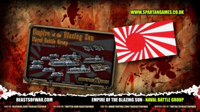 The Empire of the Blazing Sun Naval Battle Group