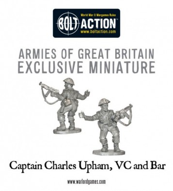 Captain Charles Upham - VC & Bar