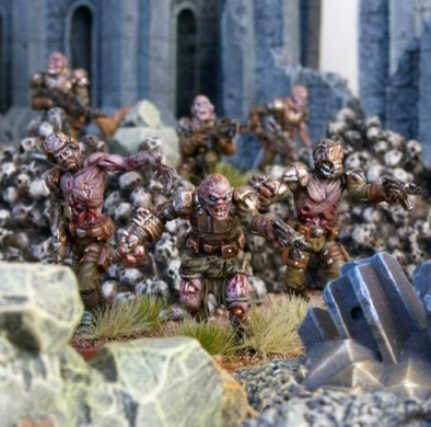 Mantic - Zombie Marines Attacking