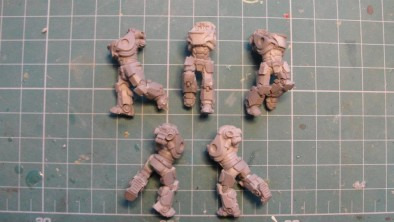 Puppets War - Combat Armour Bodies