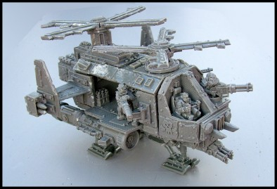 Radlodyte Copter (Un-Painted)