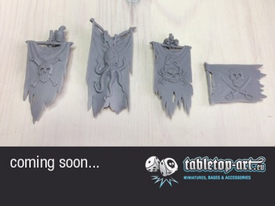 Tabletop Art - Pirate Banners