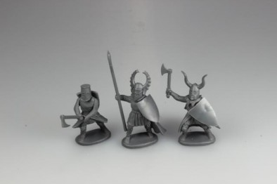 Teutonic Infantry Close Up