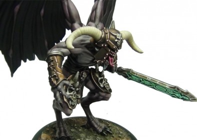 Ultraforge Demon With Wings (Close Up)