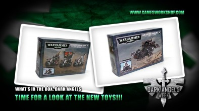 What's in the Box: Dark Angels - Time For a Look at The New Toys!!!