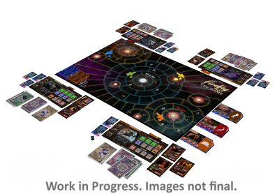 Firefly - The Board Game Set-up