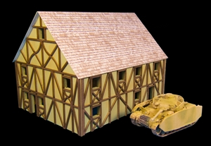 GameCraft - 10mm Two Story Large Half Timber House