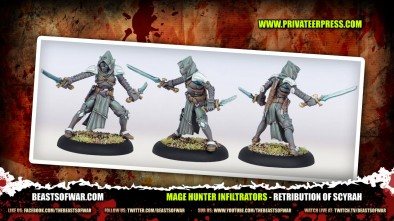 Go Hunting Spellcasters With Scyrah In Warmachine
